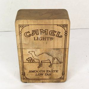Camel Lights Wooden Trinket Box